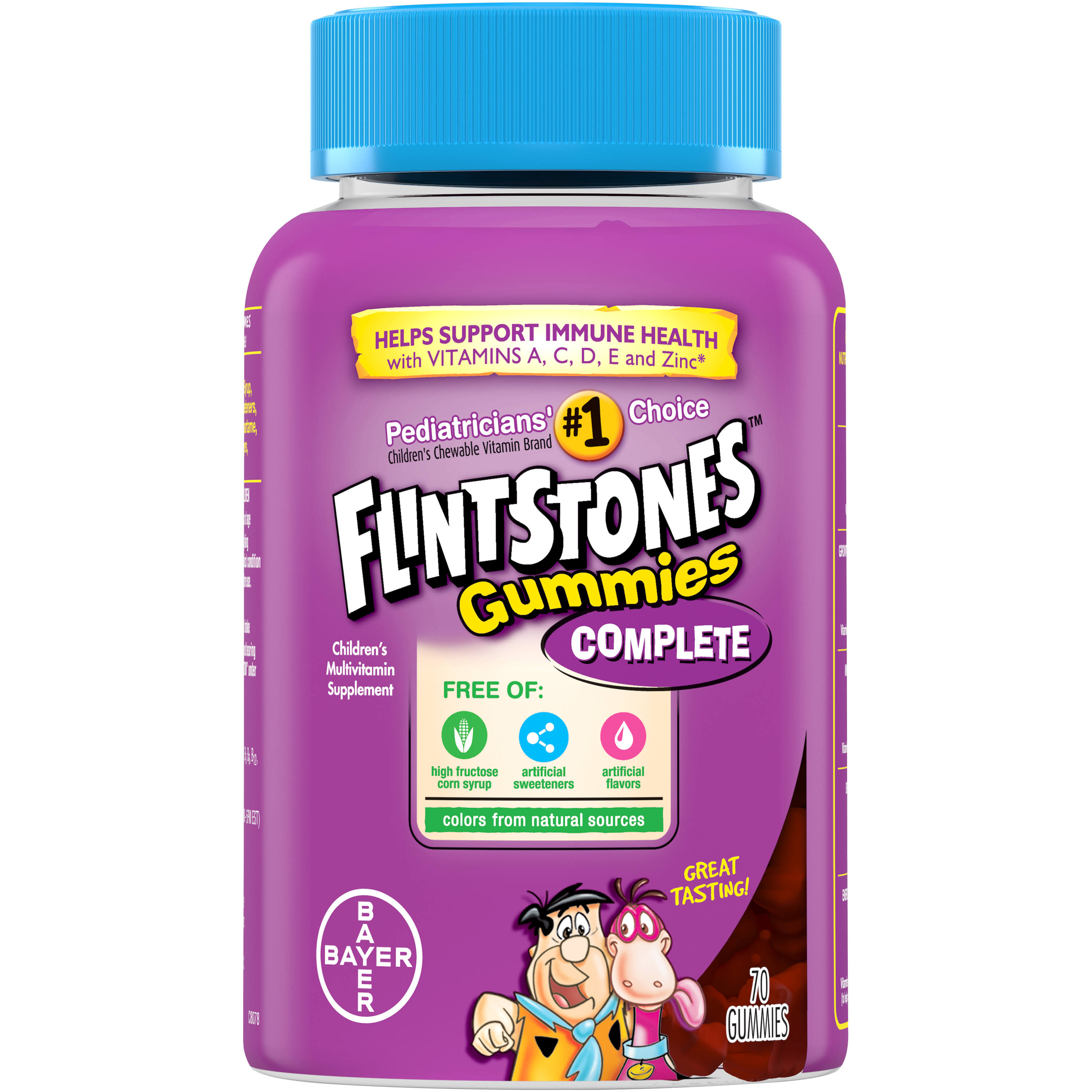 Flintstones Children's Multivitamin Complete Gummies Supplement - 70 Count