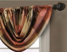 allen roth striped 40 60 curtains drapes valances ebay