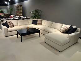 L Shaped Couches Leather Sectional Sofa With Recliner Most