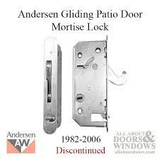 Andersen Patio Door Lock Instructions by Style Deadlock Andersen Reachout 1982 2006 Gliding Patio Door
