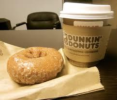 Dunkin Donuts Pumpkin Donut Nutrition by Dunkin Donuts