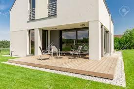 100 House Patio Wooden Patio Design Small Terrace Idea For Modern House