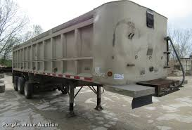 100 Eastern Truck And Trailer 1999 East Randolph End Dump Trailer Item DF3783