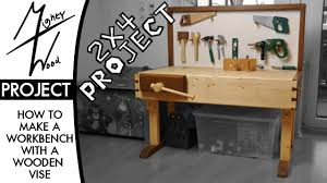 a small height adjustable workbench 2x4 project youtube