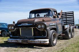 100 Rat Rod Tow Truck This Is A 1959 Chevrolet Viking Rat Rod Towing Truck It Has A Blown