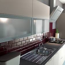 Looking For A Sleek And Modern Kitchen Try Burgundy Metro Kitchen