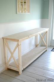 Ana White Sofa Table by How To Create A Weathered Wood Finish Ana White Plans Adapted To