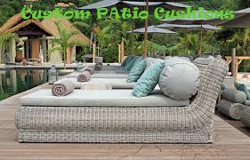 Outdoor Furniture Patio Cushions Custom Made Manufacture With Regard To Weather Resistant Fabric For Design 2