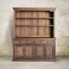 Hutch Buffet Sideboard Reclaimed Wood China Cabinet Kitchen