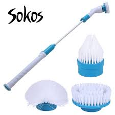Quickie In The Bathroom by Spin Scrubber Turbo Scrub Rechargeable Scrubber Cleaning Brush