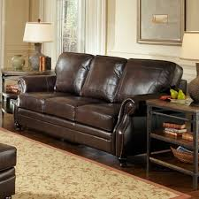 Decoro Leather Sofa With Hardwood Frame by At Home Designs Laredo Sofa U0026 Reviews Wayfair