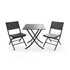 Lowes Canada Patio Furniture by Vancouver Classics Pat73061 Aluminum Slats Bistro Set Lowe U0027s Canada