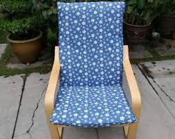 Ikea Poang Chair Cover Green by Ikea Poang Chair Cushion Cover Dark Floral