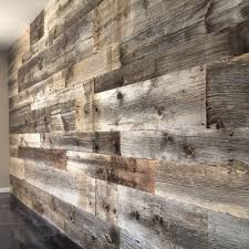 Reclaimed Grey Hemlock Siding Wall PORTER BARN WOOD CUSTOM