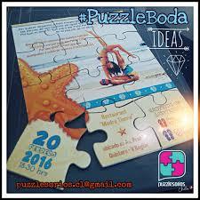 Puzzles Rompecabezas Personalizados Invitaciones Publicidad