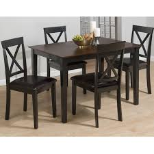 Wayfair Dining Table Chairs by 5 Piece Dining Table 5 Piece Dining Set Wood Breakfast Furniture 4