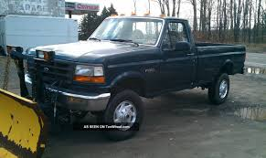 100 1996 Ford Truck F 250 4wd With Plow