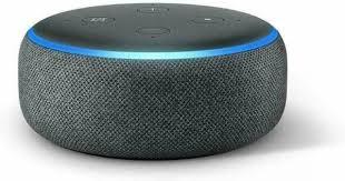 echo dot 3rd smart speaker charcoal