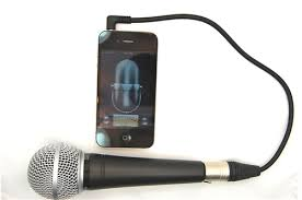 iPhone XLR microphone adapter 3 5mm 4 conductor TRRS Male to 3