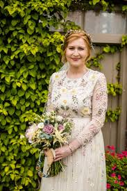 Bride Wears A Long Sleeved Needle Thread Gown Images By Cassandra Lane Photography