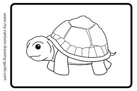 Tortue 52 Animaux Coloriages À Imprimer Destiné Coloriage