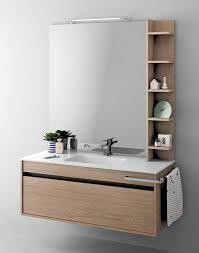 platzsparender schrank für badezimmer mit integrierter