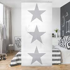 flächenvorhang schlafzimmer