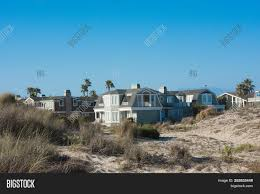 100 Oxnard Beach House On Sand Image Photo Free Trial Bigstock