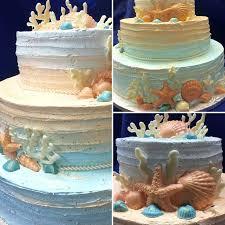 Rustic Beach Wedding Cake 74