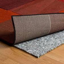 Felt Rug Pads For Hardwood Floors by Rug Best Rug Pad For Laminate Floors Home Depot Rug Pad Rug