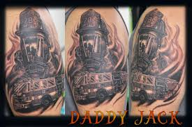 Custom Fire Fighter By Daddy Jack TattooNOW