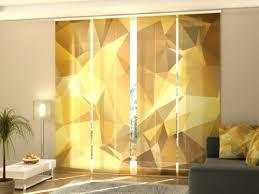 curtains drapes fotogardine abstraction schiebevorhang