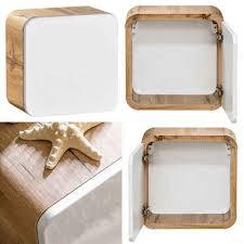 lomadox hängeschrank luton 56 badmöbel hochglanz weiß mit wotaneiche b x h x t ca 35 x 35 x 20cm