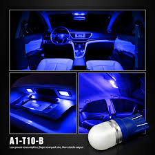 100 Led Interior Lights For Trucks Pack Of 6 LED 194 Blue SiriusLED