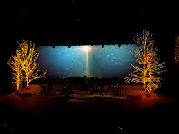Type Of Christmas Tree Lights by Best 25 Christmas Stage Design Ideas On Pinterest Stage