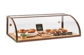 Category Display Case Pastry Countertop Clear