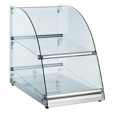 Glass Food Display Case Non Refrigerated