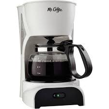 Mr Coffee 4 Cup Switch Maker Black DR5 NP