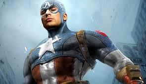 Chris Evans In Captain America Costume