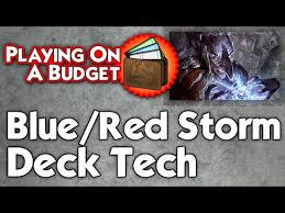 playing on a budget modern u r storm deck tech youtube