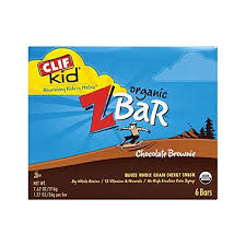Clif Bar Kid Z Organic Chocolate Brownie 6 Bars 762 Oz 216g 127 36g Per