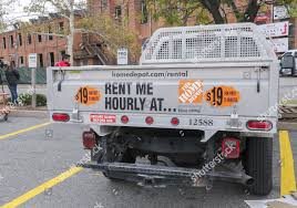 100 Truck Rentals Home Depot Pickup Truck Available Hourly Rental Editorial