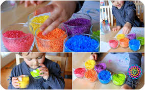 The Imagination Tree Created A Lovely Baking Sensory Bin Perfect For Open Ended Play