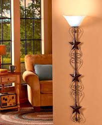 Primitive Living Rooms Pinterest by Americana Wall Lamp Scrolling Metal Hearts U0026 Star Warm Remote