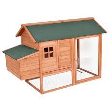 Wooden Chicken Coop 61