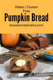 Paleo Pumpkin Custard Whole30 by Paleo Pumpkin Bread Tessa The Domestic Diva