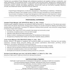 100 Assistant Project Manager Resume Free Sample Construction Template