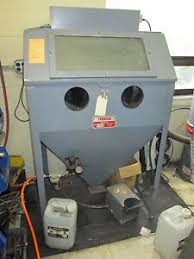 trinco model 36 bp 36 x 24 x 23 120v 1ph dry sand blast cabinet w