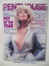 100 Penthouse Maga Zine Dec1984 Angela Marie Mineo Pet Of The Month