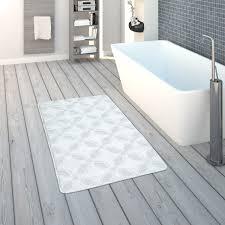 badematte kurzflor teppich badezimmer rutschfest
